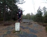 Trailrunning bei Schmilka - Der gewählte Pfad hat eine herausragend gute Markierung ;)