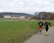 Auf dem Elbradweg von Schmilka nach Dresden -  Das Finale beginnt mit Schloss Pillnitz