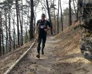 Trailrunning bei Schmilka - Nicht jeder Abschnitt des Gabrielensteiges lässt sich so leicht laufen.