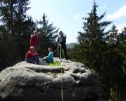 Tour 05 - Auf dem Gipfel des Steinachturmes
