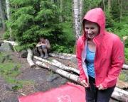 Tour 07 - Vorbei mit der Kletterei: Gewitterregen