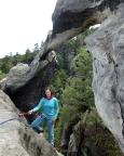Portal des Portalturms - ein herrliches Felsentor - Tour 08