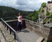 Burg Hohnstein - Tiefblick in das Polenztal - Tour 08