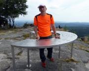 Großer Zschirnstein Gipfel – hier habe ich noch nie gestanden.