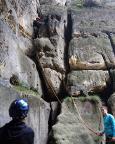 Heringstein, Alter Weg II*, die ersten Meter sind geschafft