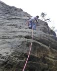 Kubulus im Bielatal, Botanikerkante – bei dieser Trockenheit kein Problem
