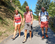 Abstieg von Mittelndorf ins Kirnitzschtal zum Kirnitzschtalfest
