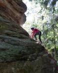 Die Mutausbrüche gehen weiter, Hoffi im Alten Weg II am Bewachsenen Fels