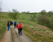 Samstagvormittag – 16 Teilnehmer starten über den Schaarwändeweg in Richtung Alter Wildenstein