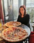L'Osteria Dresden, eine so große Pizza haben wir noch nie gesehen