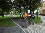 Beginnt man in Bad Schandau, geht es zunächst fast durch das Zentrum der Stadt und dann durch den sehr schönen Kurpark
