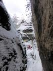 Unterwegs auf dem Felsenpfad von Khaa, eine kaum zu fassende Felslandschaft