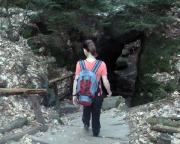 Rathen - Wehlen - Waldidyll, Abstieg in und durch die Schwedenlöcher