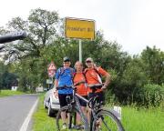 Eigentlich sollte die Tour nach Eisenhüttenstadt enden - hier haben wir aber Franfurt/Oder erreicht.