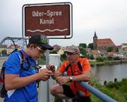 Eisenhüttenstadt, einst Fürstenberg, ist erreicht – Geocaching am Oder-Spree-Kanal