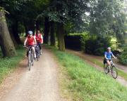 Der Spreeradweg in Cottbus, Heimat, hier joggen wir normalerweise