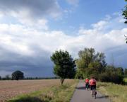 Zwischen Beeskow und Fürstenwalde - nix wie los, ein Gewitter zieht auf!