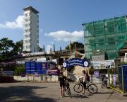 Berlin ist erreicht - Abstecher zum Müggelturm, eine Einlage für Bergfahrer
