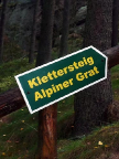 Klettersteig Alpiner Grat - hier geht es zum Einstieg