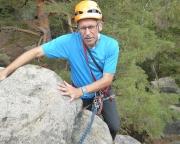Auch ich erreiche den Gipfel – im Vorstieg wäre aber nichts gegangen