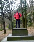 Am Aus-/Eingang der Ritterschlucht kann sich jeder sein Denkmal setzen