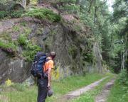 An der Katzenkerbe zwischen Ameisenberg und Pferdeberg