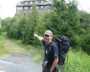 Gleich gibt es Bier: auf der Wanderung zum Hochwald