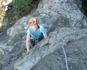 Auf den letzten Metern zum Rehstein-Gipfel