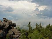 Traumhafte Wolkenspiele nach dem Gewitter