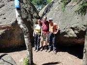 Auf dem Gipfel des Ameisenberges bei Oybin