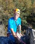 Gipfelausstieg an der Scharfensteinnadel - echt bequem, nur nachzusteigen ;)