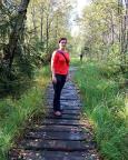 Auf Brettern durch das Hochmoor des Cotta-Weges zur Lausche