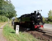 Die Zittauer Schmalspurbahn - immer wieder ein Hingucker