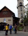 An der heuer mehr als enttäuschenden Hochwaldturmbaude