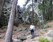 Der Pfad durch die Obere Felsengasse ist ein reizvoller Höhepunkt