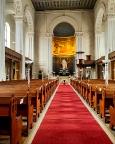 Blick in den Innenraum der Johanniskirche Zittau