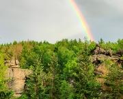 Der Goldschatz am Ende des Regenbogens liegt wohl auf dem Opferstein