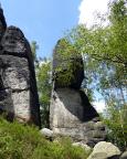 Gamshornspitze, Gipfel auf der Oberen Affensteinpromenade