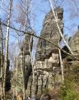 Kiebitz und Hinterer Dürrebielewächter, Blick in die Südostseiten