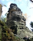 Lausbub, ein sehr kleiner Gipfel mit überwiegend leichten Wegen