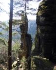 Klettergipfel Südliche Waldtornadel