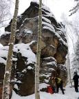 Klettergipfel Würfel, Vorbereitung zu einer Winterbegehung