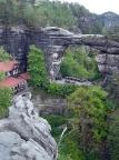 Prebischtor, Pravčická brána, Naturdenkmal des Elbsandsteingebirges