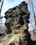 Grenzturm - Hranizni Vez - direkt an der deutschen Gruppe der Griechen
