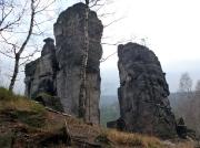 Westturm und Westnadel im Gebiet von Ostrov -  Eiland
