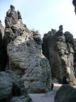 Froschkrone, Tisaer Wände, Gipfel mit einem großartigen Alten Weg III