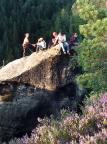 Osterspitze, wenn man sie erst einmal gefunden hat: Berg Heil!