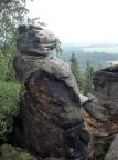 Bonifaz, Klettergipfel in den Ochelwänden bei Waitzdorf