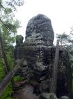 Weißer Turm, Blick auf den deutlich erkennbaren Alten Weg