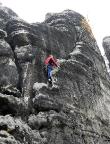 Großer Edelweißturm, Südrippe III, eine sehr schöne Kletterei